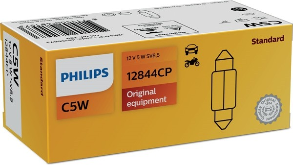 12844 CP Bec PHILIPS 12v Tip C5w (Se Factureaza Cate 10) PHILIPS