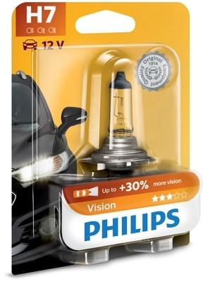 12972 PRB1 Bec PHILIPS H7 12v55w Vision (+30%) PHILIPS