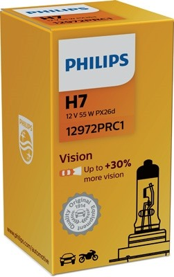 12972 PRC1 Bec PHILIPS H7 12v55w Vision (+30%) PHILIPS