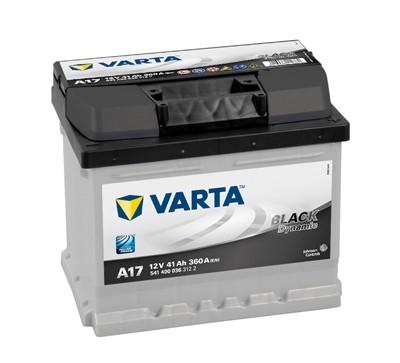 5414000363122 Baterie VARTA 12v 41ah 360A Black Dynamic A17 VARTA
