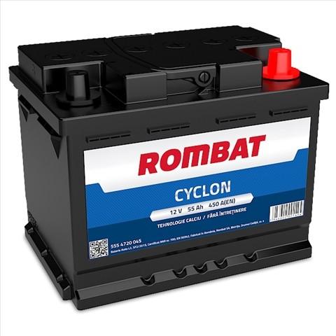 5554720045ROM Baterie ROMBAT Cyclon 55ah 450A ROMBAT