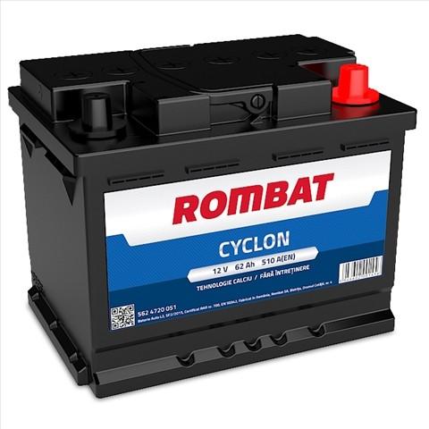 5624720051ROM Baterie ROMBAT Cyclon 62ah 510A ROMBAT