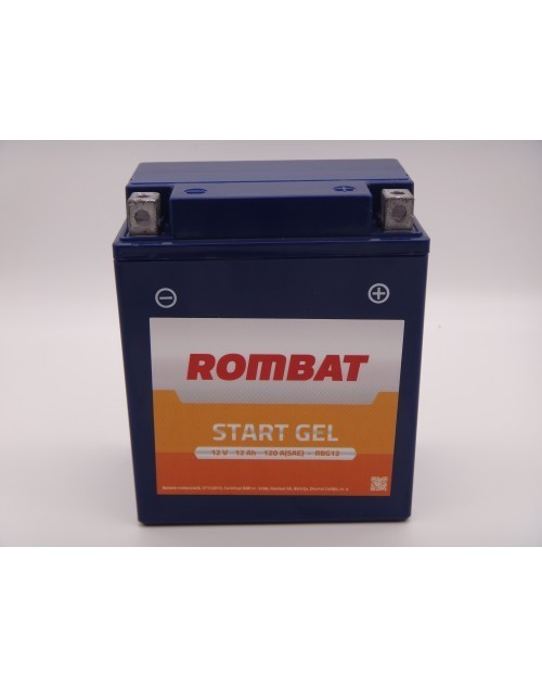 RB4L-BROM Baterie ROMBAT Moto Conventionala 4ah 40A ROMBAT