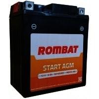 RBX12-BSROM Baterie ROMBAT Moto Agm 10ah 100A ROMBAT