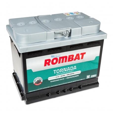 5403510039ROM Baterie ROMBAT Tornada 40ah 390A ROMBAT