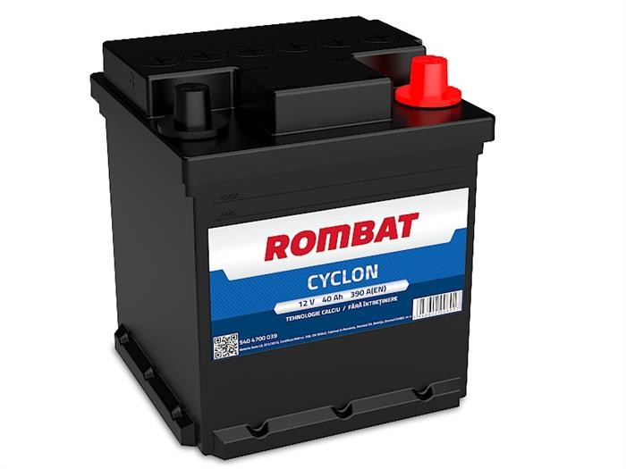 5404700039ROM ROMBAT CYCLON 40AH 390A ROMBAT