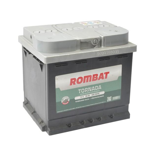 5503510048ROM Baterie ROMBAT Tornada 50ah 480A ROMBAT