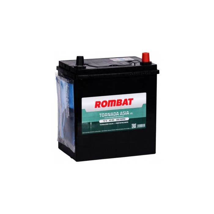 54036K0030ROM Baterie ROMBAT Tornada Asia 40ah 300A ROMBAT