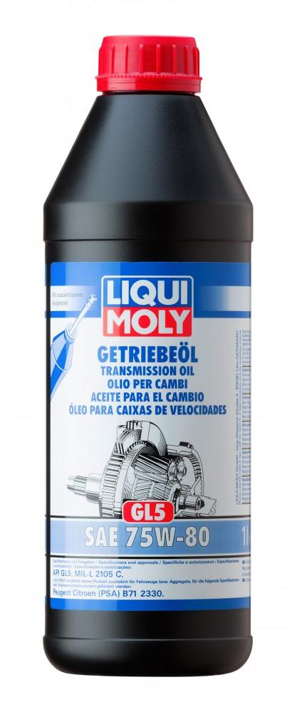 20463 Ulei cutie Liqui Moly 75W80 1L LIQUI MOLY