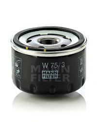 W 75/3 Filtru ulei MANN-FILTER